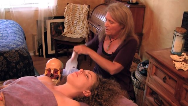 Cranio Sacral Massage Therapy Demonstration Part 1, Mouth Work