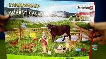 Avènement et animaux calendrier journée ferme cheval les chevaux Voir létablissement Schleich 2