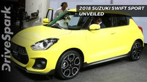 2018 Suzuki Swift Sport Unveiled - DriveSpark