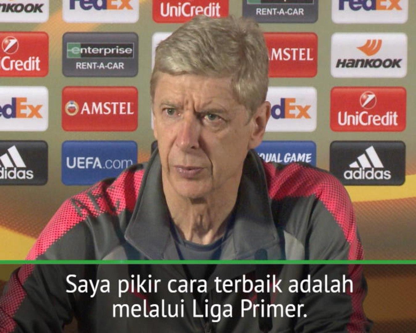SOSIAL: UEFA Europa League: Liga Europa Bukan Kesempatan Terbesar Arsenal Lolos Ke Liga Champions -
