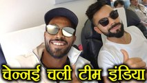 India vs Australia: Virat Kohli and Team flies off to Chennai for ODI Series । वनइंडिया हिंदी
