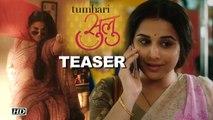 """Tumhari Sulu"" TEASER | Simple Vidya turns Sexy Radio Jockey"