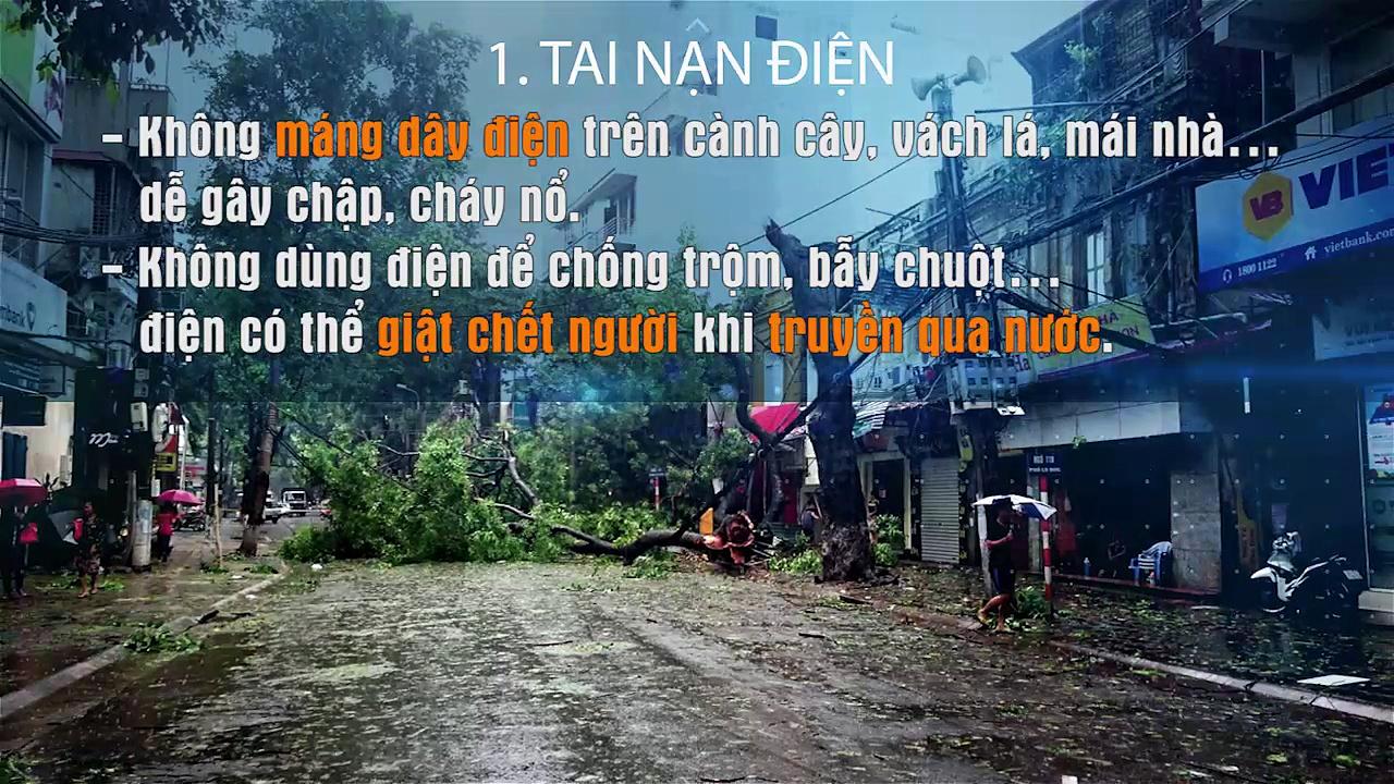 Những quy tắc cần nhớ để phòng tránh tai nạn mùa mưa bão