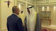 الرئيس التركي يستقبل رئيس الوزراء الكويتي