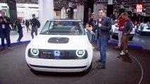 VÍDEO: Honda Urban EV Concept, combinan pasado y futuro
