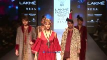 Sonal Chauhan Walks The Ram For Sonal Verma At LFW Winter Festive 2017 Day 1