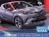 Nouveautés Toyota en direct du Salon de Francfort 2017