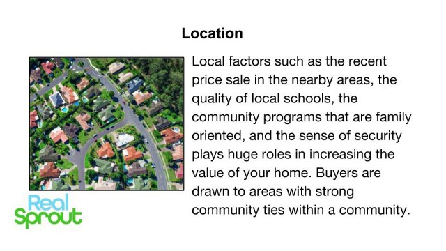 Top Driving Factors To A Skyrocketing Housing Market Value