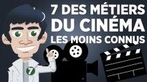 7 des métiers du cinéma les moins connus
