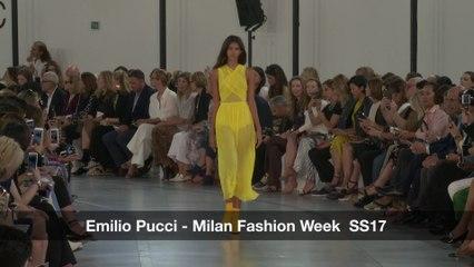 Emilio Pucci |  Spring Summer 2017 | Milan Fashion Week