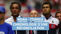 Tennis - Coupe Davis : Noah - Tsonga, chronologie d'une réconciliation