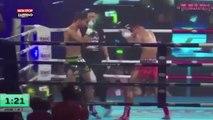Muay Thai : Un Russe étale d'un coup de pied retourné le favori thaïlandais (Vidéo)