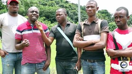 Intervention du SG de la FESCI, après les échauffourées avec la police