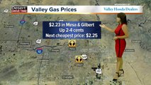 Gas prices continue to rise in the Valley