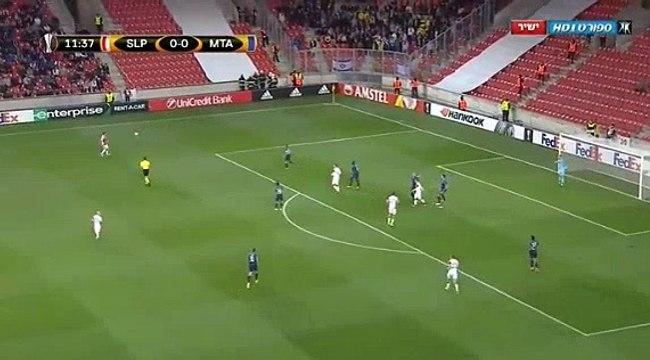 Slavia Prague 1 - 0 M. Tel Aviv