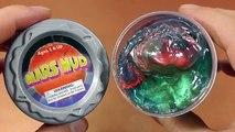 Des balles argile polymère Création de monstre de nouilles liquide à bulles aekgoe pampam Argile Sable Miniature Jouet Cor глина слизь игрушка sl