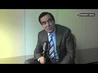 José Bono, autor de 'Diario de un ministro'. 24-4-2015
