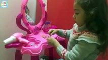 Et pour la magie Magie maquillage miroir Ziad magique se transforme en miroir et jeux maquillage de lapin et les enfants de coiffure k