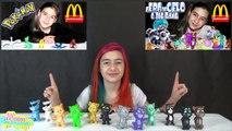 My Talking Tom Coleção no Mc Donalds (Desenho, Mc Lanche Feliz, Brinquedo, Surpresa, Gatinho, Jogo)