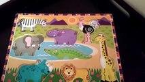 Animaux bébés enfants coloration colorant enfants Apprendre apprentissage des noms des sons sauvage Zoo animal