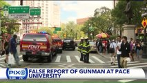 False Report of Active Shooter at Manhattan College Campus Triggered by Belt Made of Bullets