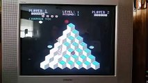 Atari 5200 Q*bert gameplay