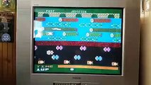 Atari 5200 Frogger gameplay