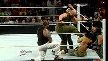 Wwe video  John Cena with Roman Reigns and Dean Ambrose defend against the Wyatt Family, best tag team match ever