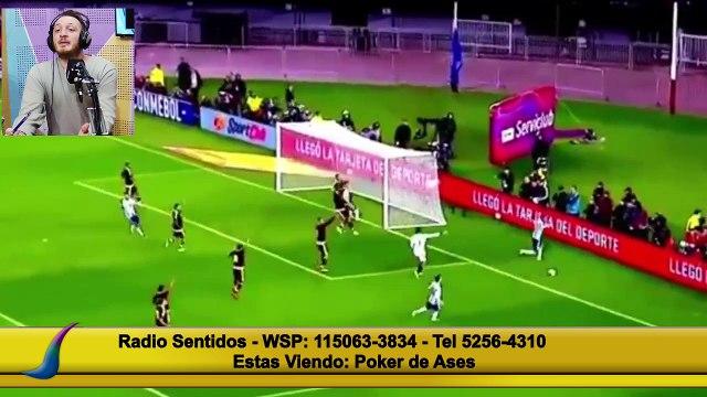 Lionel Messi vs Venezuela por Eliminatorias - Juan Bindi