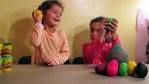 Kinder Surprise Lego Mystery Play Doh Eggs PlayDoh simpsons TMNT Ninja Turtles Friends