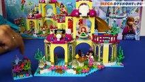 Palais Princesse sous-marin Le palais dAriel Arielki sous-marine Disney Lego 41063 Critiques