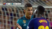 DownloadCristiano Ronaldo RED CARD Sent Off - Barcelona vs Real Madrid 1-3 - Spanish Super Cup 13082017 HD