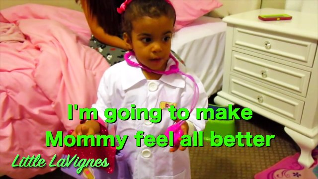 DOC MCSTUFFINS CHECK-UP TURNS INTO BAD TUMMY ACHE + SHOTS FOR MOMMY! ~ Little LaVignes