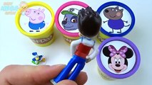 Play-doh Disney Mickey Mouse Peppa Pig Fun Play Doh Stop Motion Clay Animation Paw Patrol
