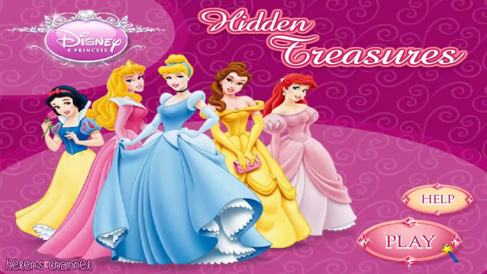 DISNEY PRINCESS - Princess Hidden Objects - English ...