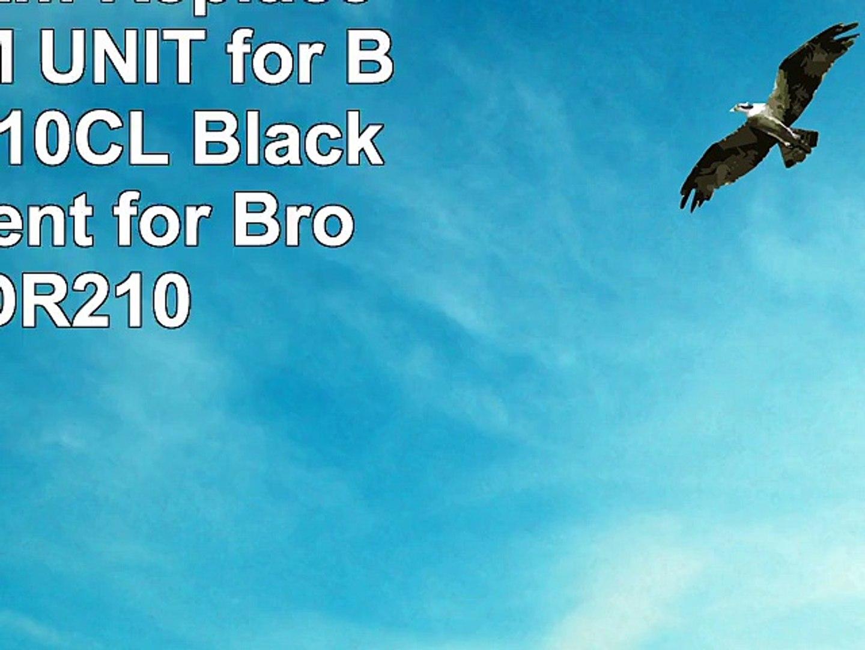 1 Inktoneram Replacement DRUM UNIT for Brother DR210CL Black replacement for Brother