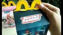 Cajita Feliz McDonalds Chicas Superpoderosas/Liga De La Justicia (Septiembre/Octubre 2016)