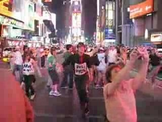 Davey Dance Blog - Time Square - Time is Running Out