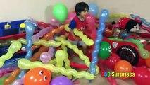Ballon Baignoire les meilleures défi les couleurs pour amusement amusement enfants Apprendre apprentissage idiot eau Ryan popping