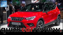 IAA 2017 Premiere of the Seat Arona and Seat Leon Cupra R | Review | Cars | English