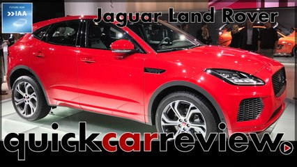 IAA 2017: Jaguar Land Rover celebrates premieres from E-Pace to Discovery SVX | Review | Cars | English