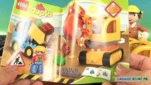 Lego Duplo le Camion et la Pelleteuse de Chantier Jeu de Construction