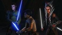 Darth Maul, Ezra, Kanan and Ahsoka vs The Inquisitors Star Wars Rebels Season 2 Finale
