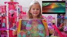 Une succursale par par des voitures diamant poupées gars film coquelicot jouets bande annonce Trolls dreamworks dctc disney ky
