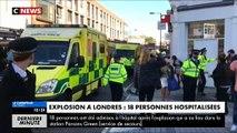 Explosion dans le métro de Londres: 18 personnes ont été hospitalisées, selon les secours