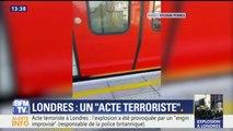 """Londres: """"J'ai entendu un gros boom à 10 mètres de moi, j'ai vu des flammes"""", raconte un témoin"""