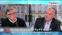 «Narcissique», «minable»... Michel Onfray fracasse Macron