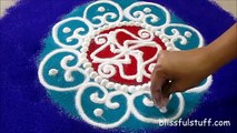 Coloré conception conception dessiner Comment dernier à Il Rite indien Bharti rites Rangoli Rangoli Diva