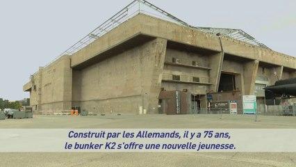 Rénovation du bunker K2 à Lorient La Base