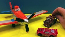Disney Pixar Dusty Crophopper helps McQueen, Mater and the Kind fly for the first time